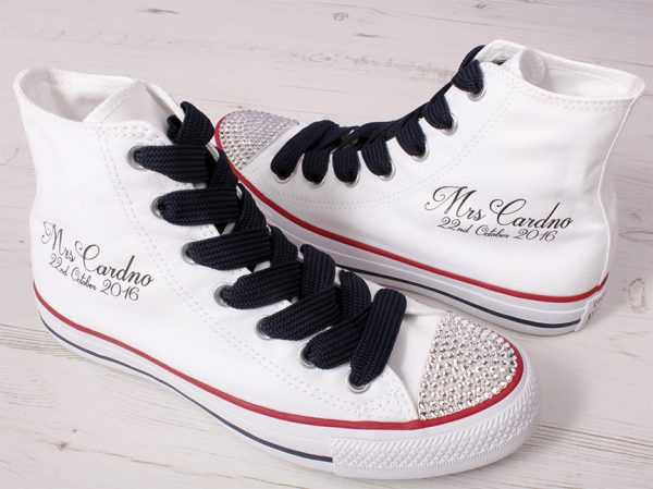Hi Top Wedding Converse