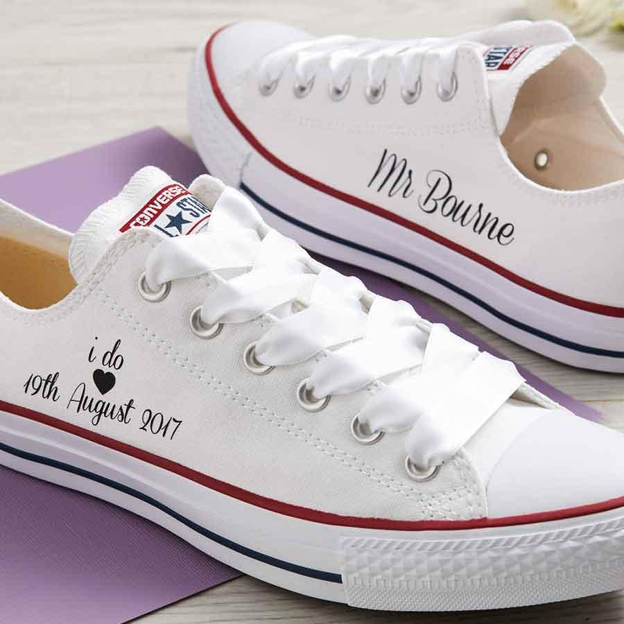 I Do Bride Converse Classic Ox Wedding Converse