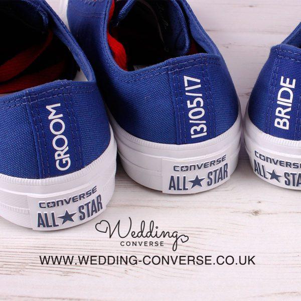 Custom Groom Converse