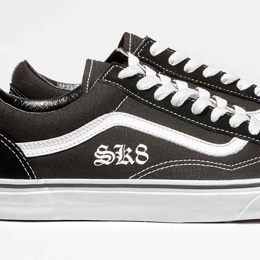 b04cd4f6043 Custom Vans Old Skool Trainers (Add your letters) - Wedding Converse