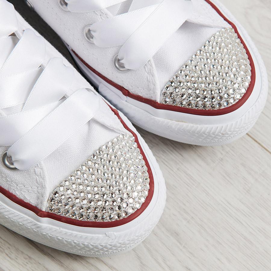 c247bc0717f Bride Wedding Converse Heel · Personalised Wedding Shoes