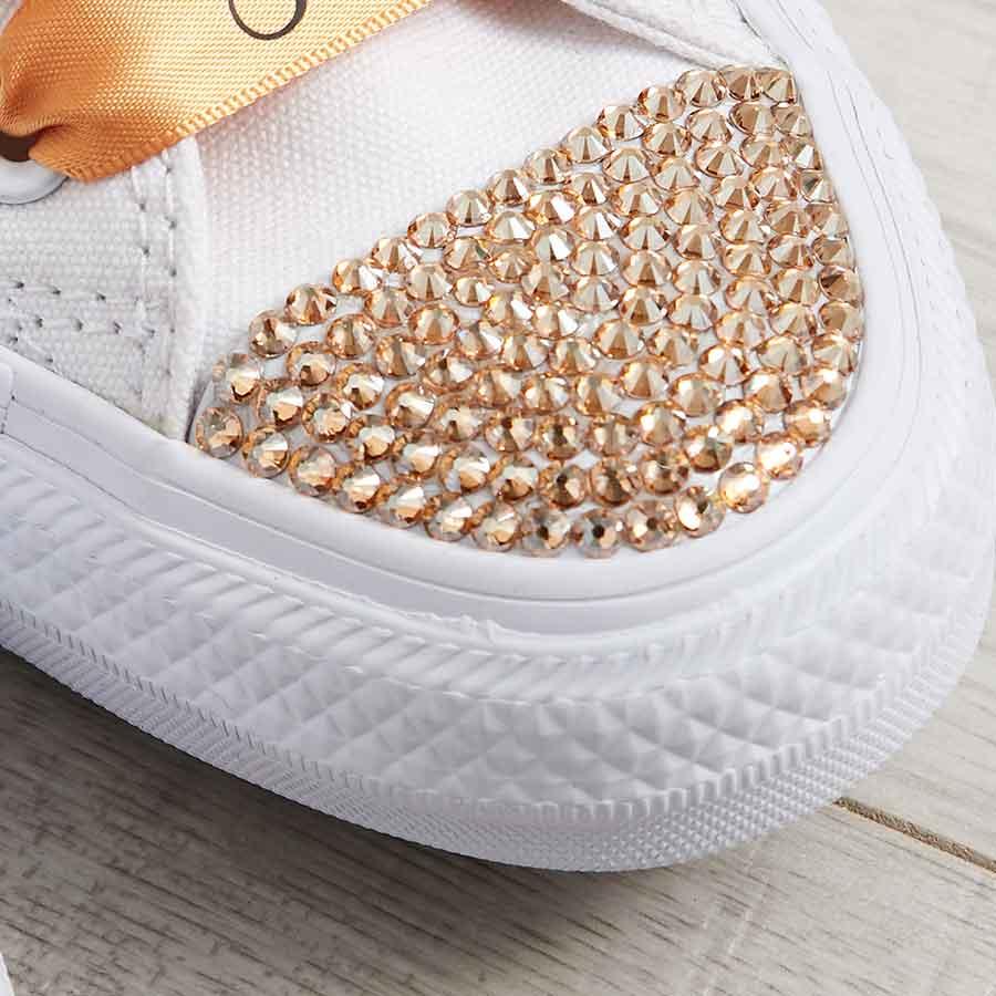 a8d5b4caadc5 Bride Converse l Custom Converse l Wedding Shoes