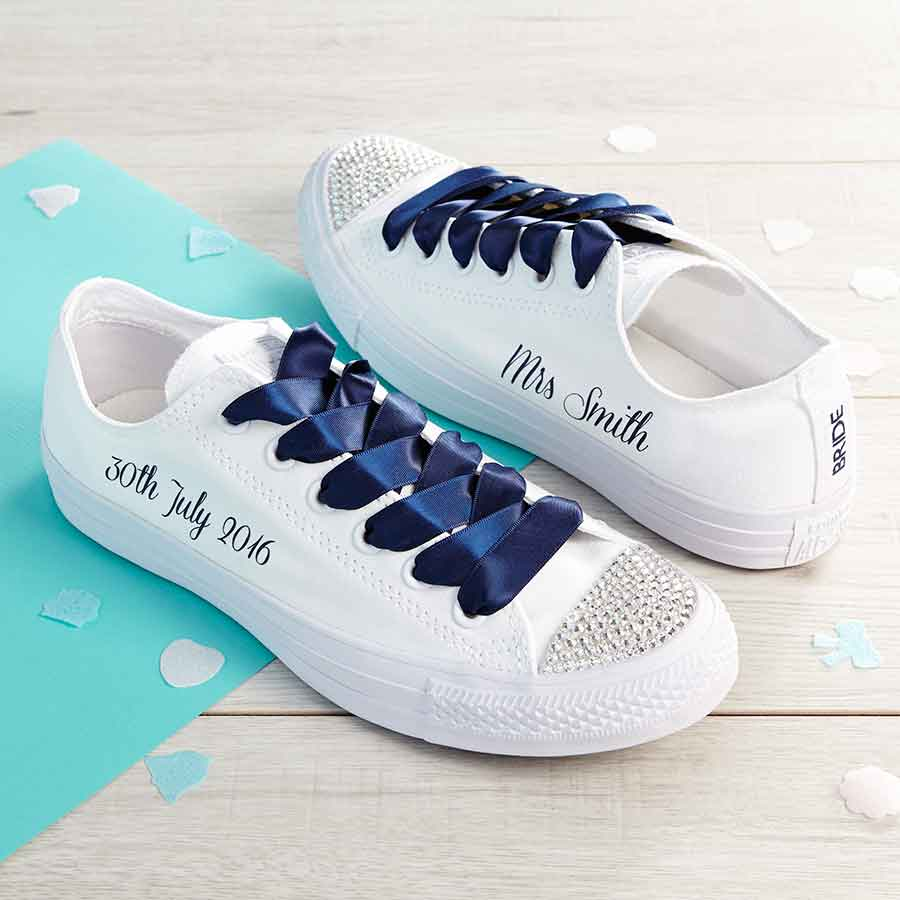 b8c6fc790e32 Bride Converse l Custom Converse l Wedding Shoes