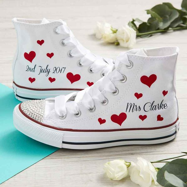 Custom Wedding Converse