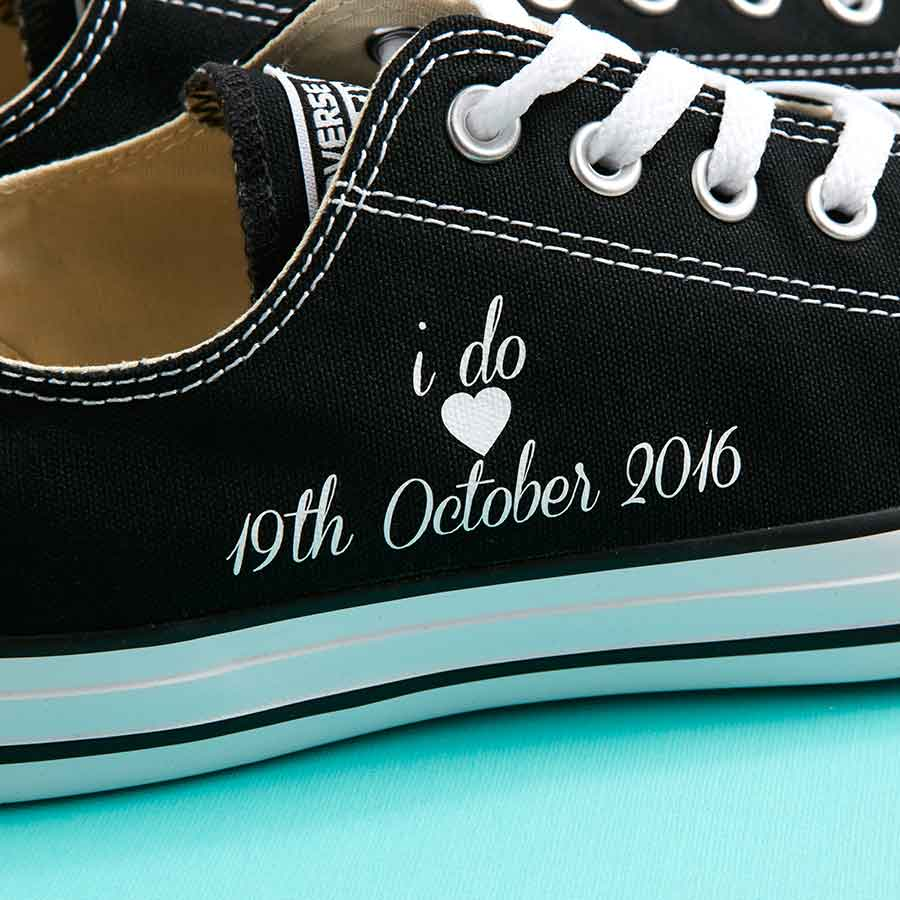 1e15a3b506d2 I do  Groom Converse Classic Ox (3 Colours) - Wedding Converse