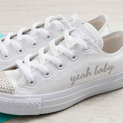 fa8413e99ea1 Yeah Baby Shoes or Customise With Your Slogan. £85.00 View Product. Custom  Converse