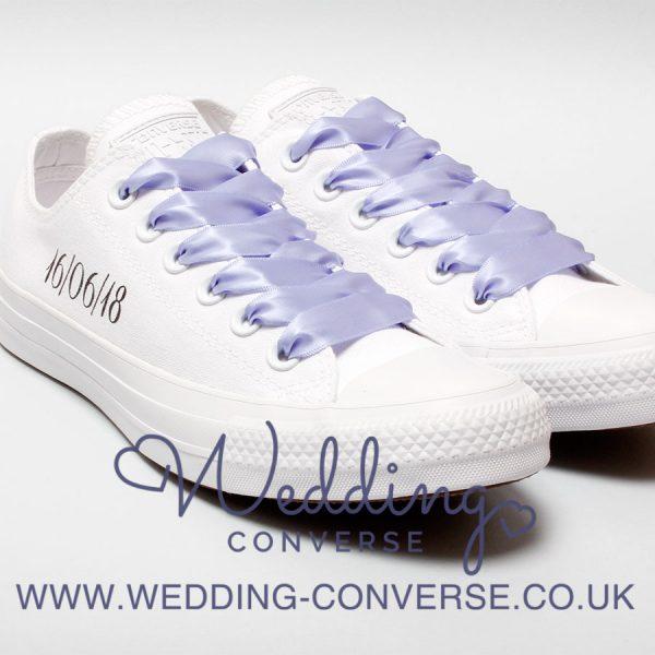 lilac wedding converse