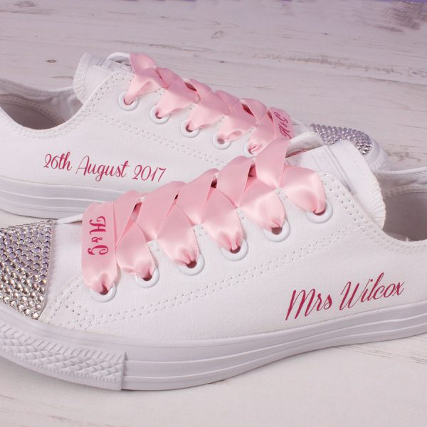 custom converse laces