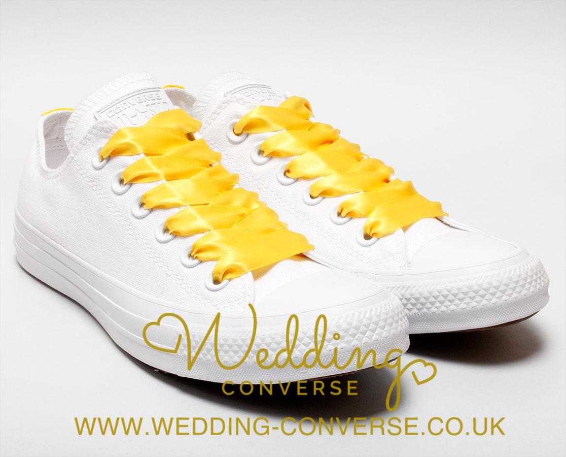 40619dfaa2f yellow bride converse · pearl wedding converse 1 · ivory wedding converse