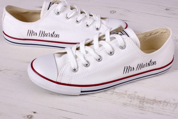 Dainty wedding Converse