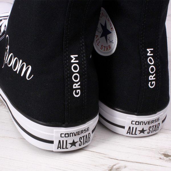 Groom Wedding Converse