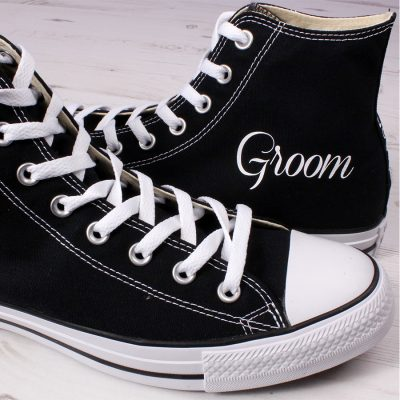 Groom Wedding Converse