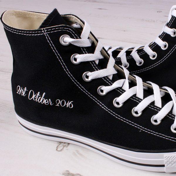 Groom Black Converse