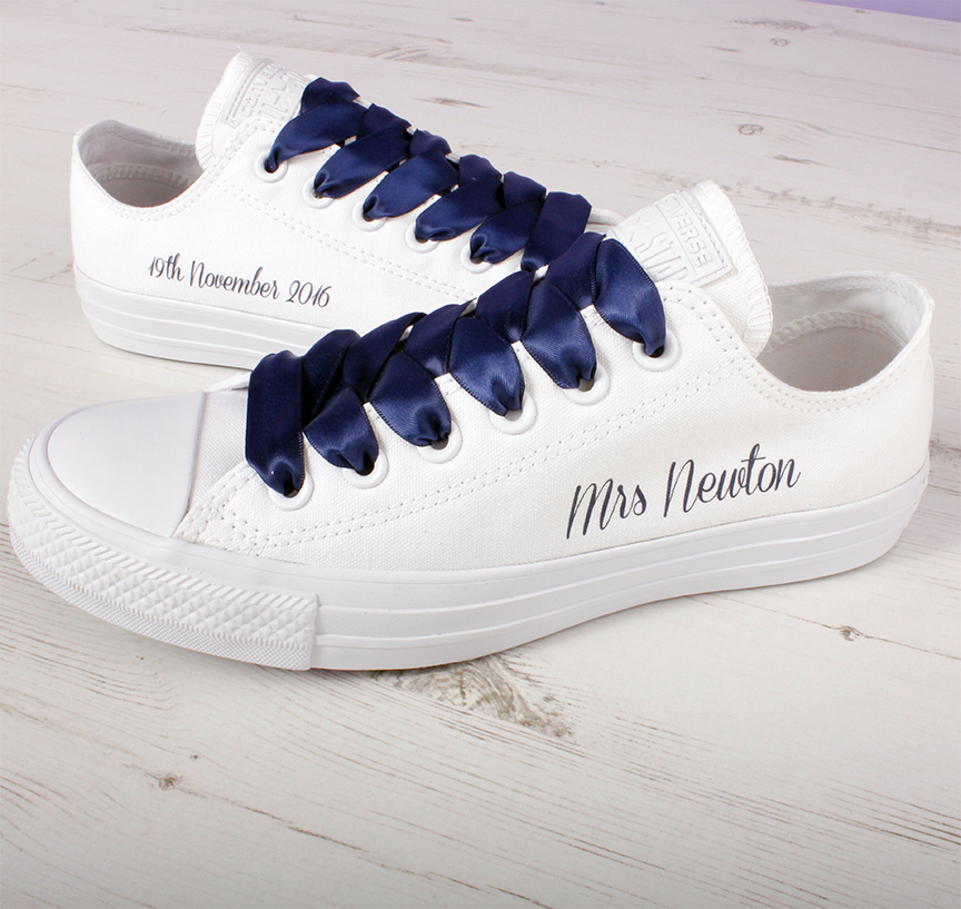 d620bca2750 Bride Converse l Custom Converse l Wedding Shoes