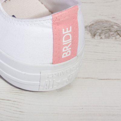Pink Bride Converse