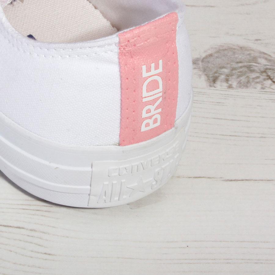 Custom Made Bridal Shoes Uk: Custom Wedding Converse