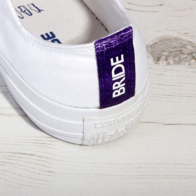 Purple Wedding Converse
