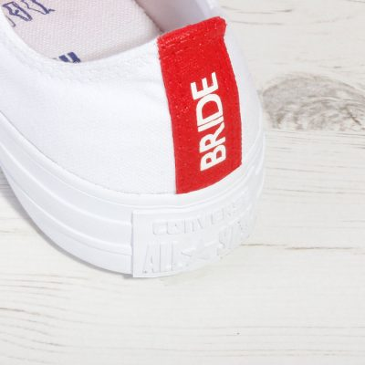 Red Bride Converse