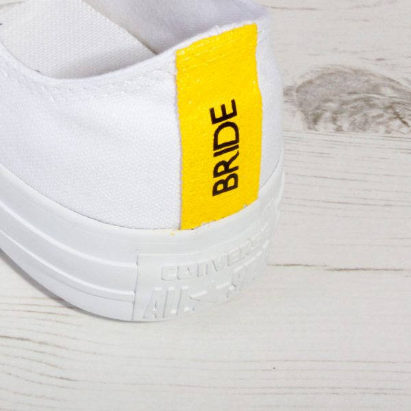 Yellow Bride Converse