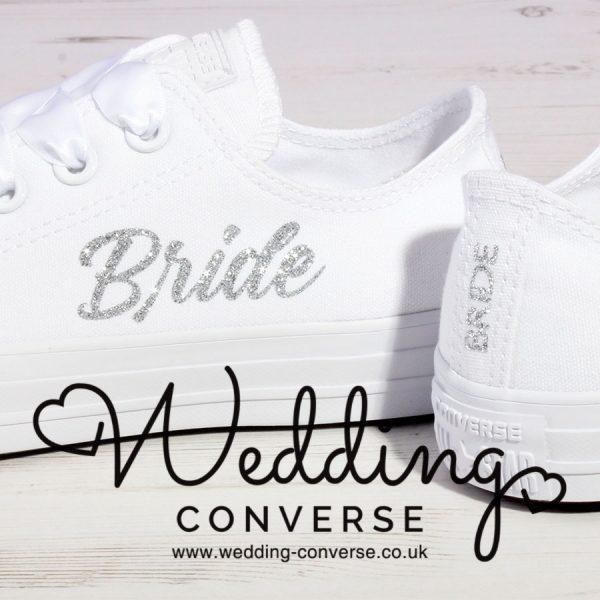 Glitter Wedding Converse
