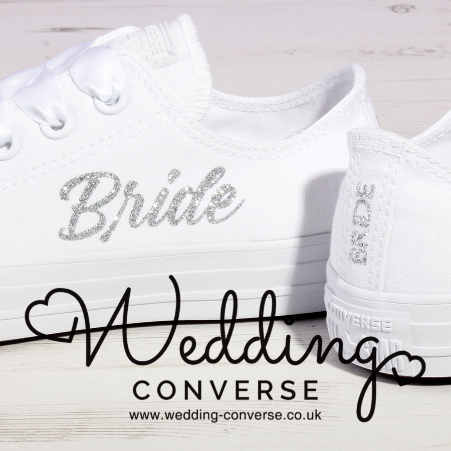 Wedding Trainers for Bride (Large