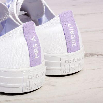 Lilac Bride Converse