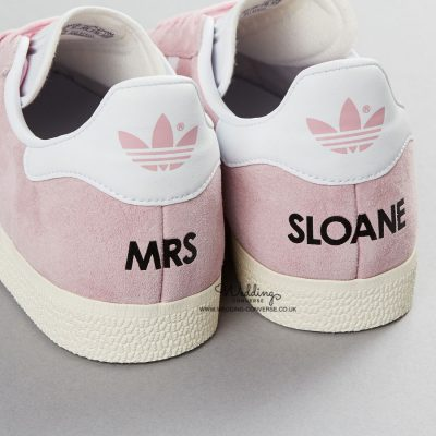 Custom Adidas Wedding Trainers