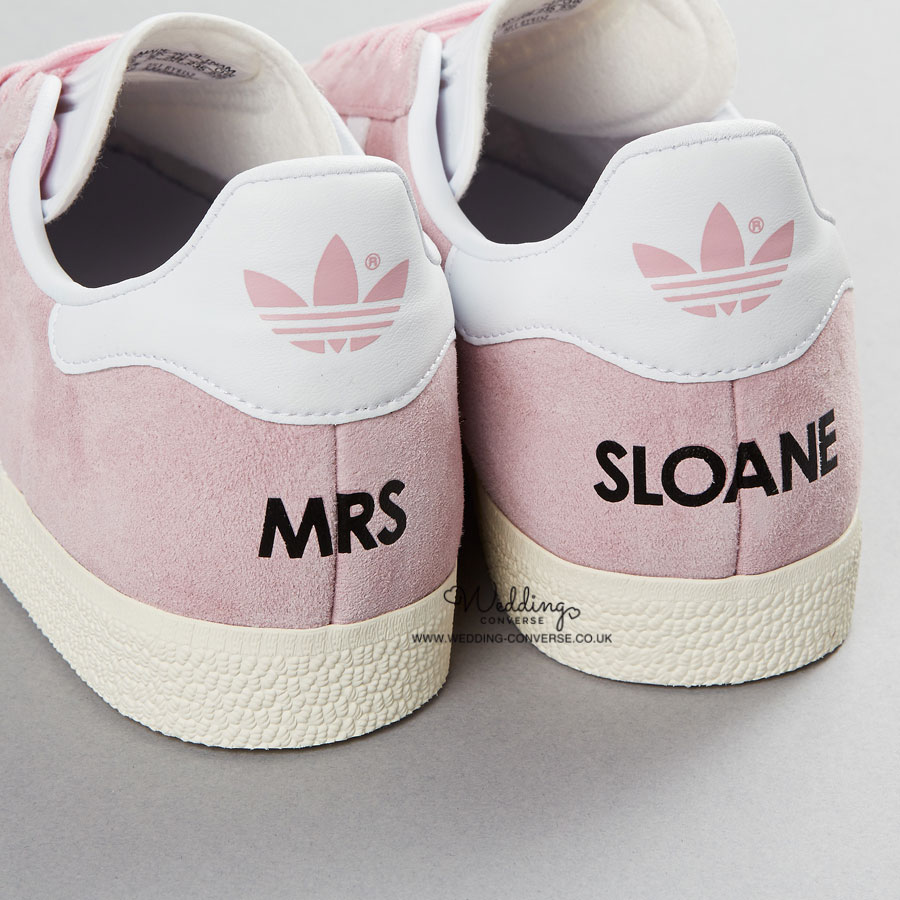 11f7f32ff1c8 Custom Adidas Wedding Trainers l Personalised Adidas Shoes
