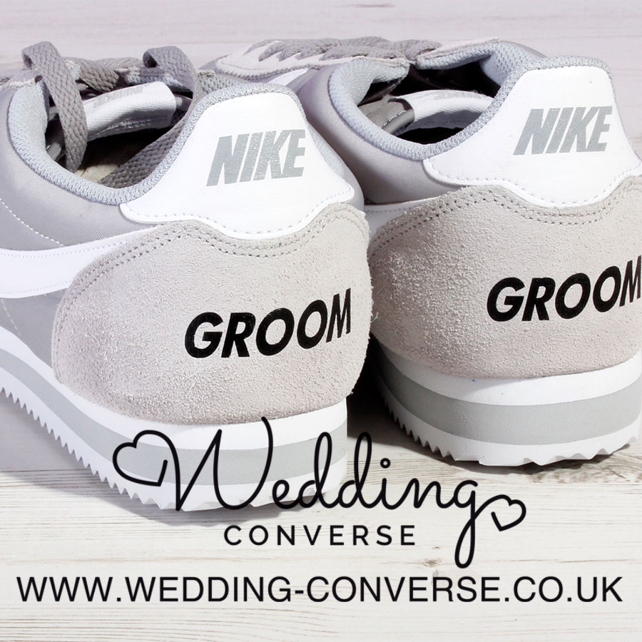 Nike Wedding Shoes for the Groom - Wedding Converse