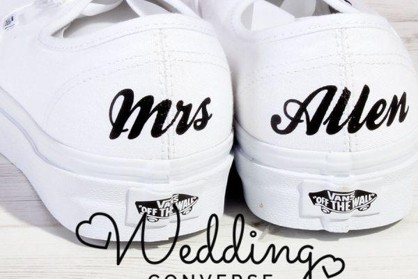Bride Vans sneakers
