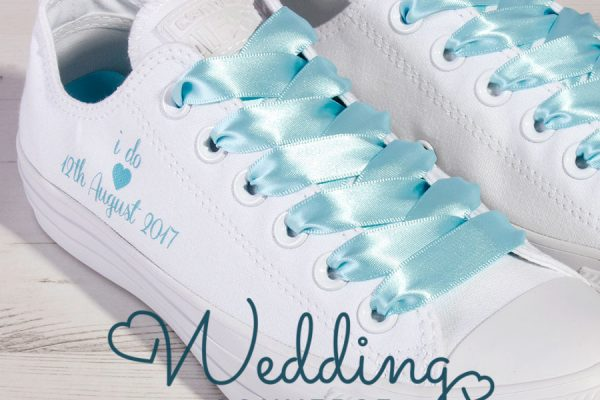 Tiffany Blue Wedding Converse