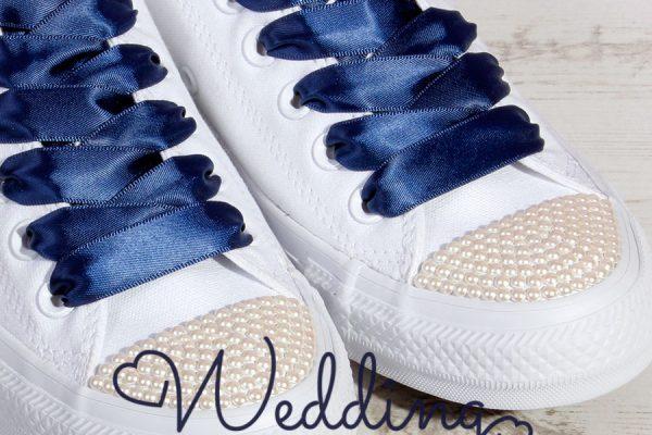 Pearl Wedding Converse