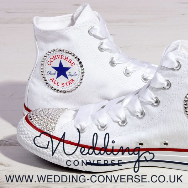 bling wedding sneakers