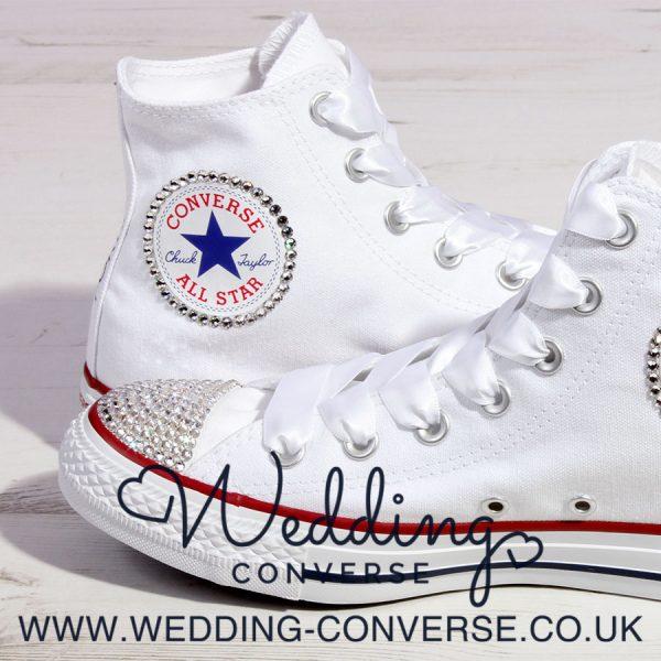 bling wedding sneakers