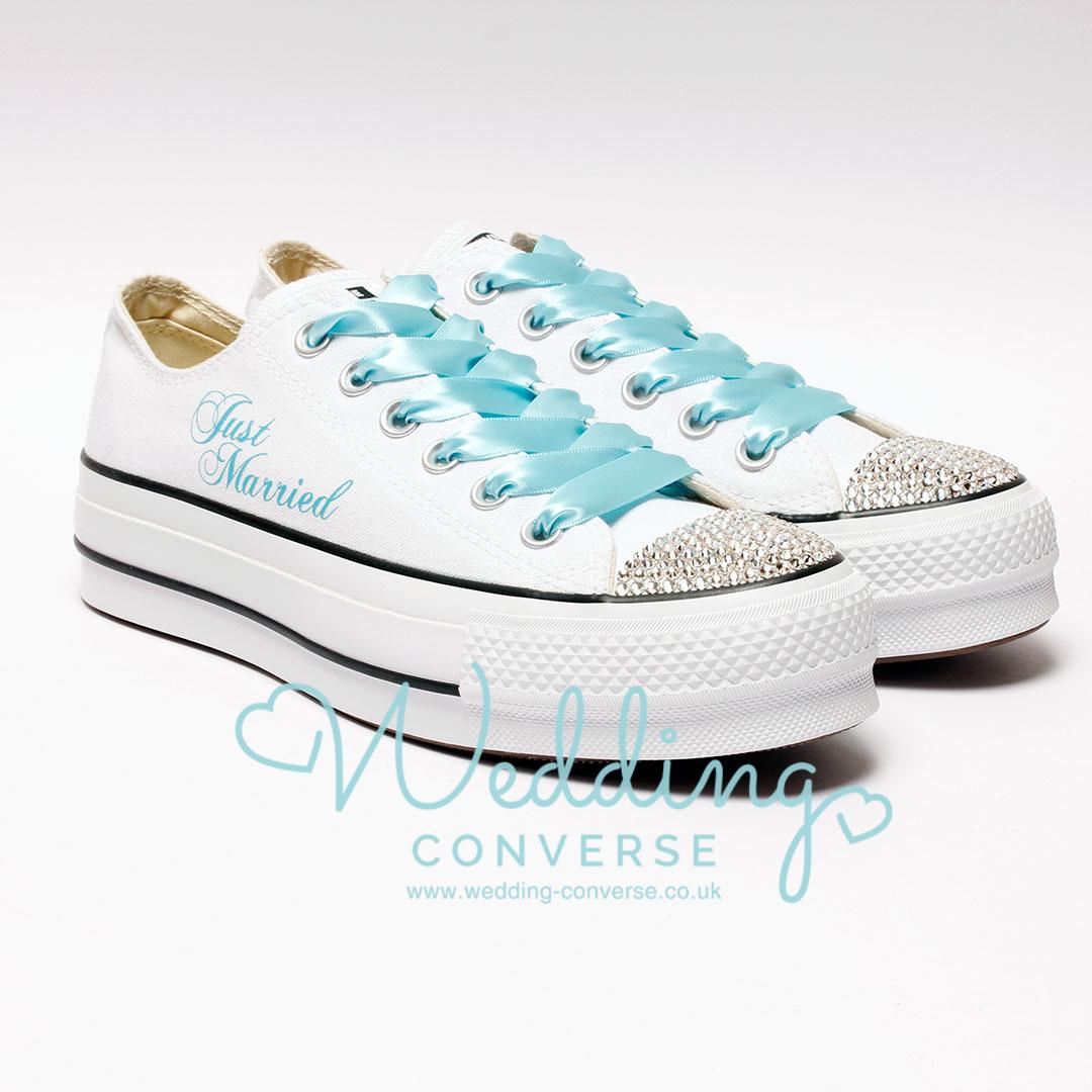 bling custom converse