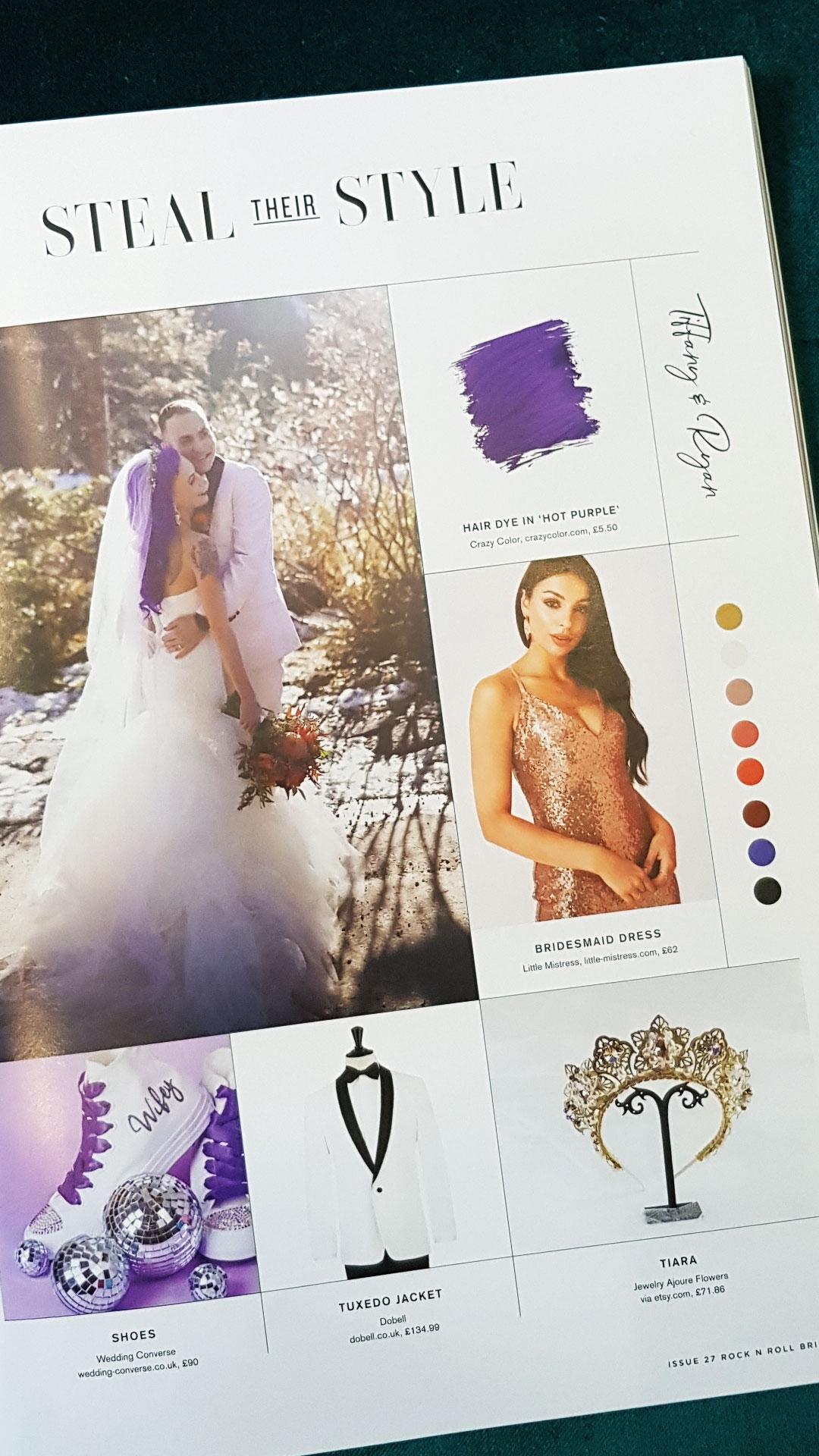 Purple Glitter Converse