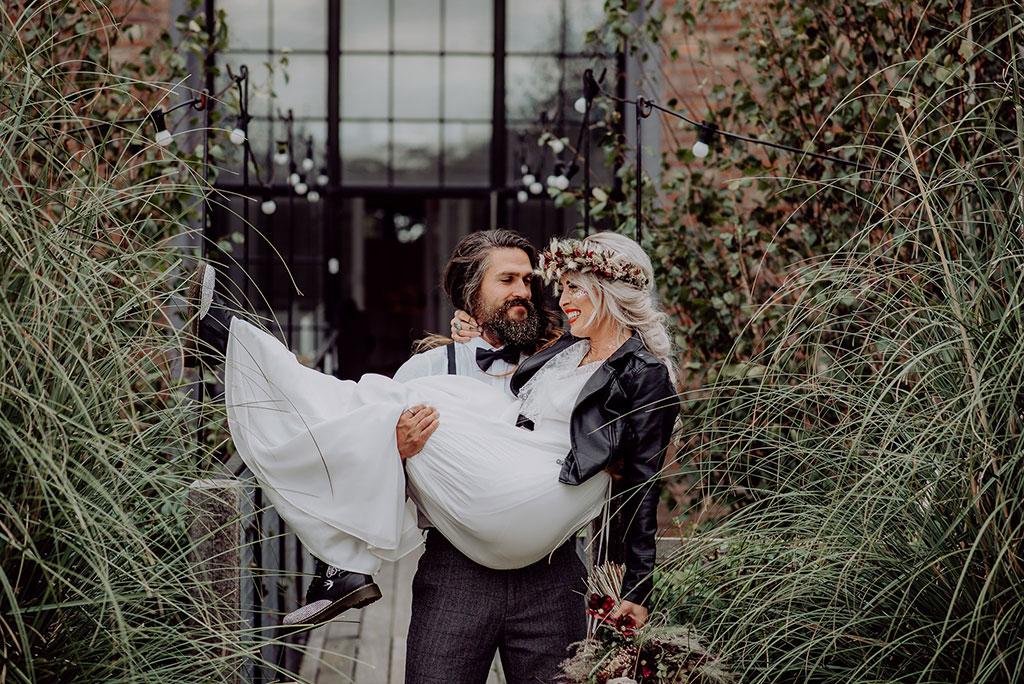 bridal dr martens