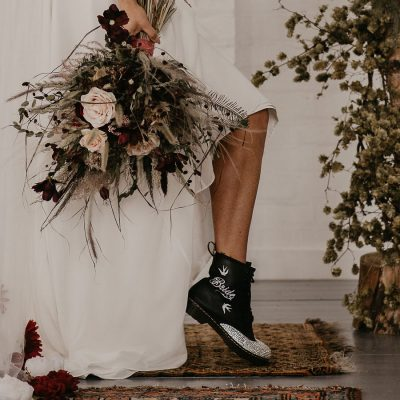 bride doc martens