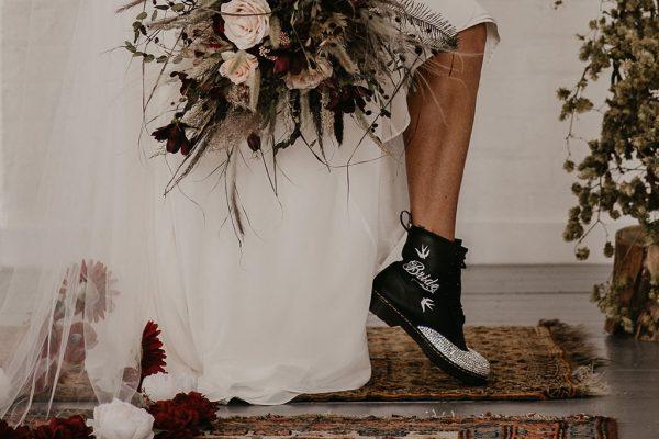 bride dr martens