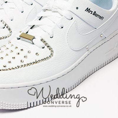 nike air force wedding shoes