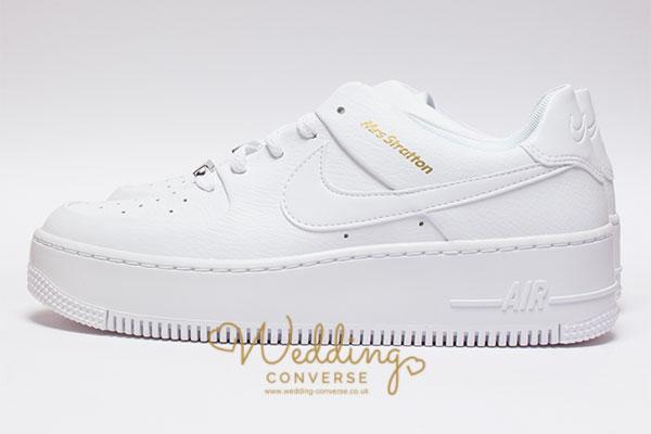 Nike Wedding Shoes with Customised Mrs name