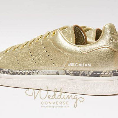 Stan Smith Adidas Custom Wedding Trainers