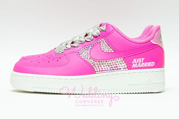 Just Married Nike Air Force 1 Sneakers