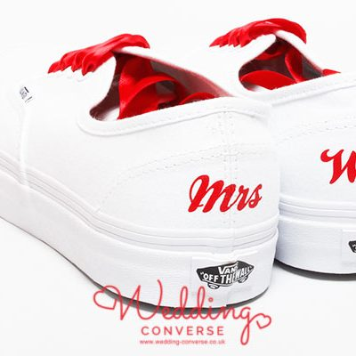 personalised vans shoes