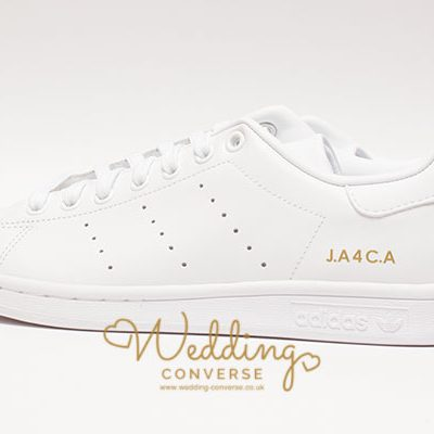 wedding trainers stan smith