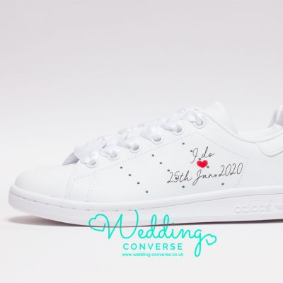 adidas bridal wedding sneakers