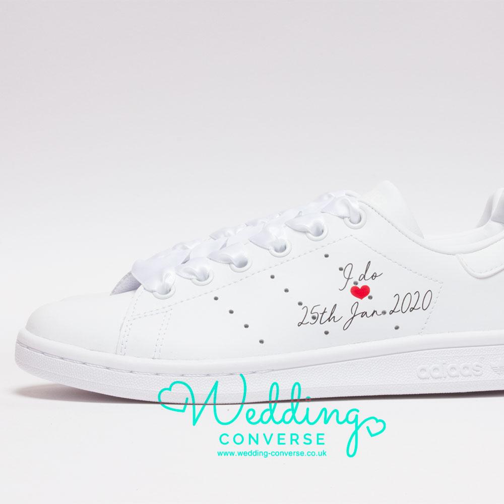 adidas bridal wedding sneakers