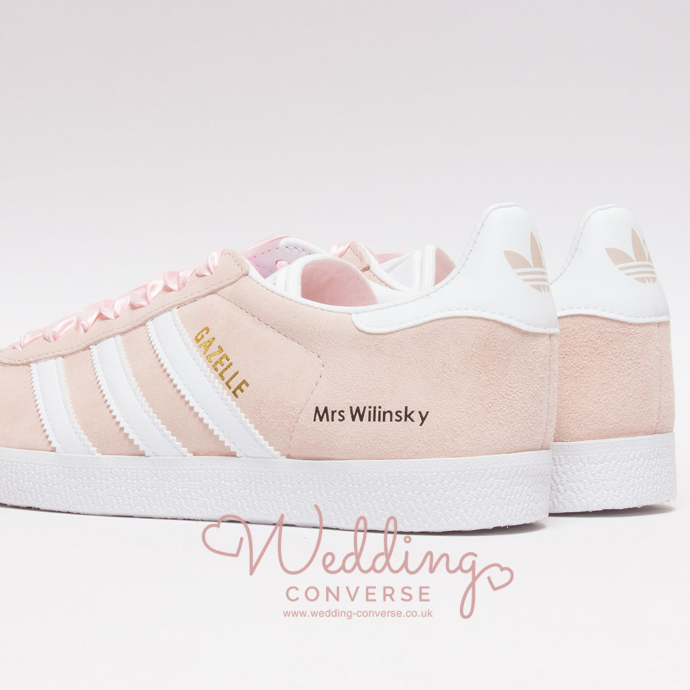 adidas wedding sneakers for the bride