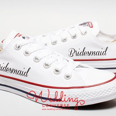 bridesmaid Converse
