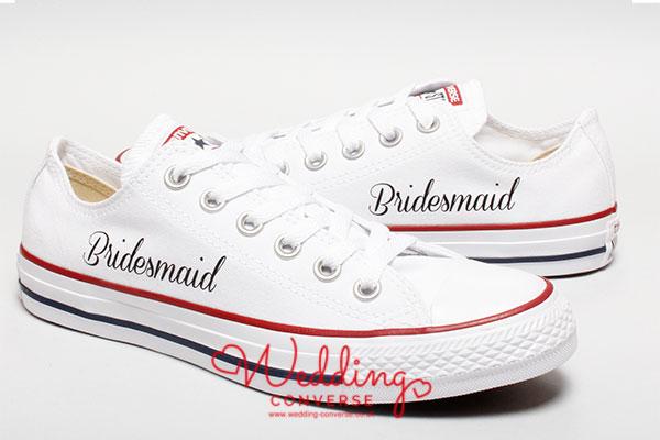bridesmaid Converse